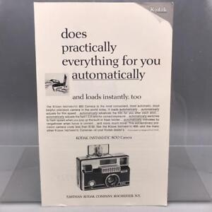Vintage Magazine Ad Print Design Advertising Kodak Instamatic 800 Camera