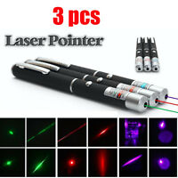 1MW Laser Poderoso Verde Rojo Púrpura puntero laser pointer Pen láser Beam Light