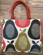 ORLA KIELY JUTE EARLY DESIGN TESCO PEARS SHOPPING BAG NEW WITHOUT TAG