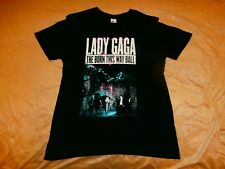 TRUE VTG LADY GAGA THE BORN THIS WAY BALL TOUR T-Shirt UNISEX SZ L 2012 2013