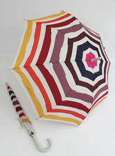 ESPRIT gestreifter Regenschirm Stockschirm  für Damen  Eroded Stripes 01