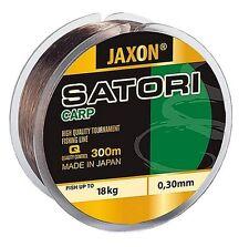 Ligne de Pêche Jaxon Satori Carpe 300m/600m Bobine Fichier Unique Fil pour