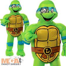 Inflatable Leonardo Mens Fancy Dress Teenage Mutant Ninja Turtles Adults Costume