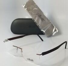 NEW SILHOUETTE 5506 DQ 6140 black rimless reading glasses computer eyeglasses