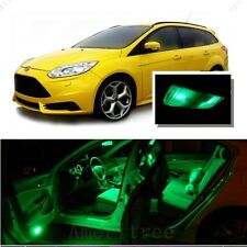For Ford Focus 2012-2016 Green LED Interior Kit Package