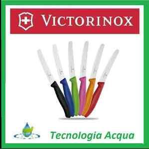 COLTELLO VICTORINOX CUCINA DA BISTECCA LAMA ONDULATA 11cm INOX PUNTA ARROTONDATA