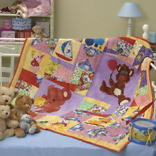 Teddy's Toys  - Quilt pattern for a Boy or Girl designed by Carole Heeley