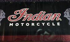 GENUINE Warbonnet Indian Motorcycle Banner 4' x 10' Heavy Nylon Vinyl GARAGE!!!