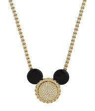Disney Couture SALE! Minnie Mawi Pavé Swarovski Crystal Ears Necklace