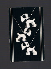 Playing Swap Cards  1  U.S. VINT  OUT  WALKING  PUPPIES   DOGS  DECO W91