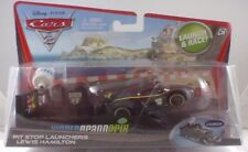 NEW Disney Cars 2 Pit Stop Launchers LEWIS HAMILTON HTF