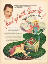 Original 1946 7up Gardening ad 10½ x 14 inches tavern trove