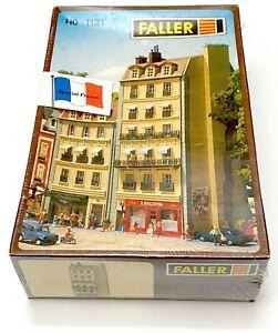 Faller HO 1121 Immeuble français avec commerces Stadhaus NEU OVP boîte sous film