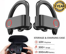 Bluetooth Headphones Wireless 5.0 Sports Waterproof Earbuds with Charging Case