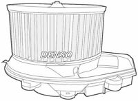 DENSO CABIN BLOWER FAN / MOTOR FOR A VW PASSAT ESTATE 2.0 100KW