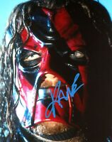 WWE KANE HAND SIGNED AUTOGRAPHED 8X10 PHOTO WITH PICTURE PROOF AND COA 12