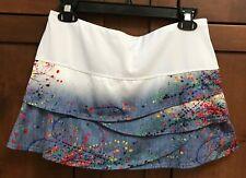 Ex Cond Lucky In Love Painter Scallop Tennis Skirt/Skort Sz M (8-10)