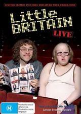 LITTLE BRITAIN LIVE DVD=LIMITED EDITION INC TOUR PROGAMME=REGION 4=NEW & SEALED