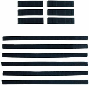 6 Pieces Straps and 6 Pieces Strap Protectors for Hoverkart Hoverboard Attachmen