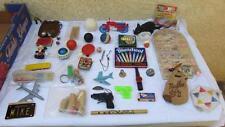 Vintage Toys 1950-1970 Lot Magic Marbles Superball Motorcycle Pipe Yo-Yo + More