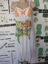 Save the Queen abito tulle bianco taglia L  dress kleid robe vestido