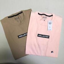 Hollister Men's Short Sleeve Crew Neck Box Logo Tee Logo T-Shirt