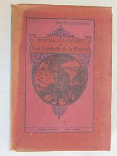 10C13 LIVRE ANCIEN DON QUICHOTTE DE LA MANCHE EDITIONS CASTERMAN TOURNAI