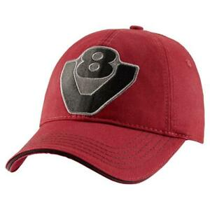 Genuine Scania V8 Logo Red Truck Baseball Cap Hat One Size Men's Mens New