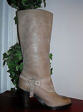 Ralph Lauren Delsa Burnished Leather Knee High Ridding Boots Women's 6.5 B new