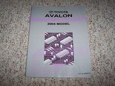 2004 Toyota Avalon Electrical Wiring Diagram Manual XL XLS 3.0L V6