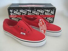 Vans Era Laceless Red/True White Unisex Men/Women Shoes VN-0L886RT