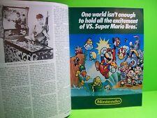 PLAY METER Magazine March 1986 Video Arcade Games Pinball Super Mario Bros AD