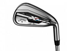 New LH Callaway XR 4-AW Iron Set Stiff flex SpeedStep Steel Irons x-r 4-PW+AW