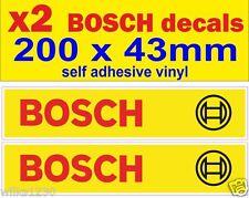 X2 Bosch Coche Camión Van Bus Pegatinas Bicicleta Auto Adhesivo Vinilo En Las Moto VW