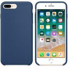 Funda silicona iPhone 7/8 textura suave  Azul cobalto