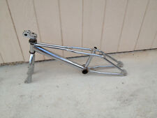 Vintage Haro BMX Freestyle Frame and forks Chrome Revo Zippo Master