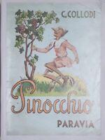 Libri ragazzi - C. Collodi - Le avventure di Pinocchio - ed. 1946 Paravia