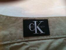 RARELY WORN - Calvin Klein Lightweight Trousers (Beige) - SIZE W32 L33