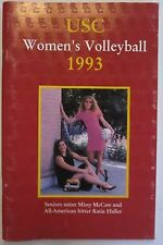 USC WOMEN'S VOLLEYBALL 1993 MEDIA GUIDE
