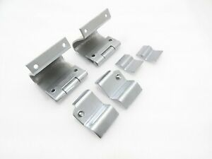 New Willys Jeep Windshield Frame Hinges Set #G530 @(001)