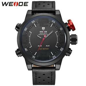 WEIDE Watch Men Relogio Mascilino Display Men's Watches Top Brand Luxury Quartz