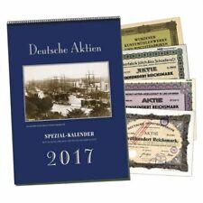 SPEZIAL-Kalender Deutsche Aktien 2017
