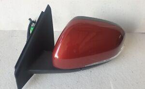 Volvo V40 Door Wing Mirror Glass left UK Spec RHD 10 pins 31442242 Flamenco Red