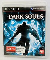 Dark Souls Game With Manual PlayStation 3 PS3 Free Postage