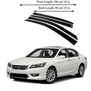 Fits for Honda Accord 13-16 Acrylic Window Vent Visor Sun Rain Deflector Guard