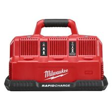 Milwaukee 48-59-1807 M12 & M18 6 Battery Pack Rapid Charge Station with Redlink