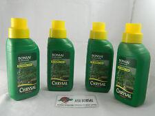 Bonsai liquid feed food fertiliser 250ml Chrysal x 4 Bottles 1 litre  ,Elms etc.