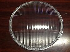 "VINTAGE GUIDE TILT RAY Convex 10-5/16"" Glass HEADLAMP HEADlight lens 915774"