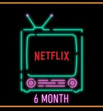 Netflix HD  - 6Mth