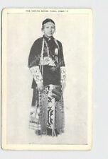 PPC POSTCARD NATIVE AMERICAN TAMA IOWA THE INDIAN BRIDE
